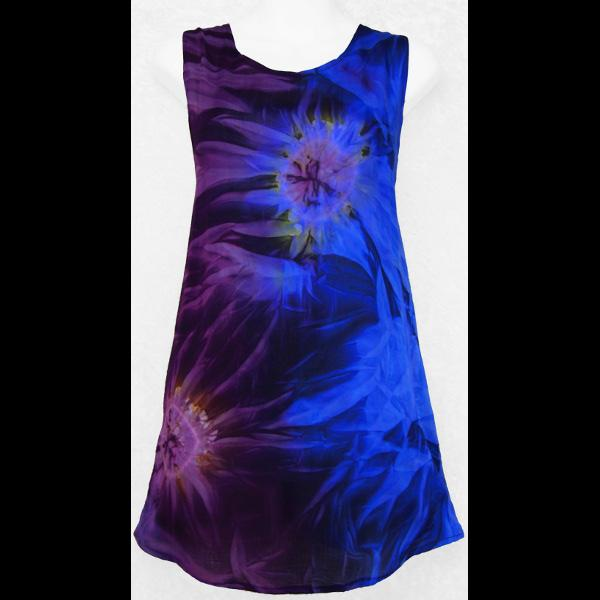 Tie-Dye Shred Long Top-Tops-Peaceful People