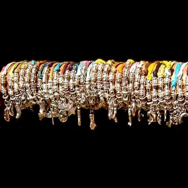 50 Charm Bracelets ($0.80 each)-Bracelets & Jewelry-Peaceful People