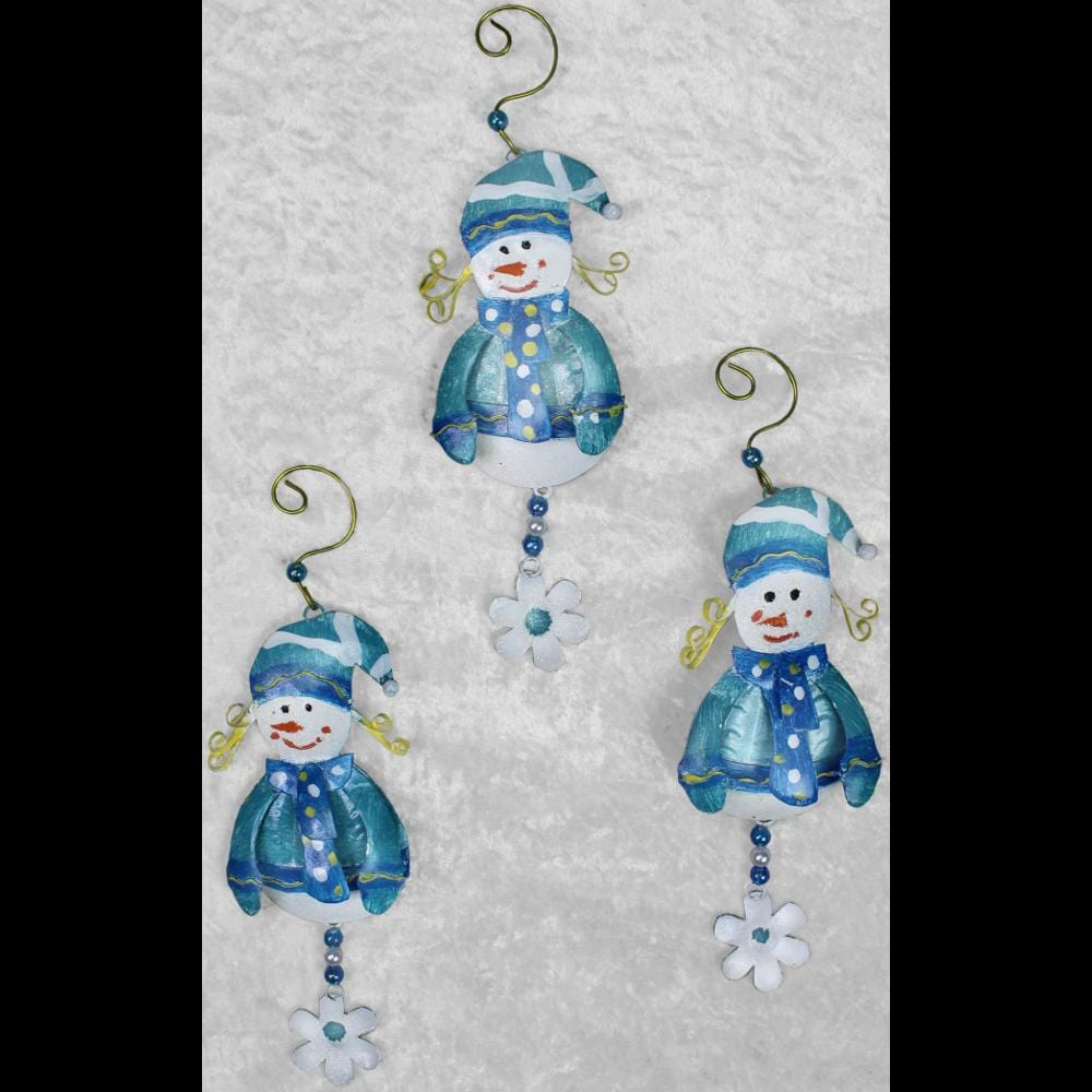 Set of 12 Snow Girl Ornaments ($1.95 each)-Handicrafts-Peaceful People