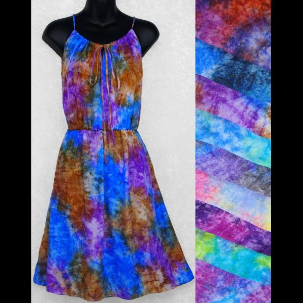 Splash Drawstring Dress-Dresses-Peaceful People