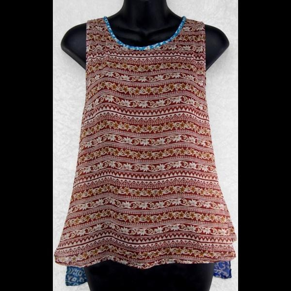 Dawn's Cotton Split-Back Top-Special Deals (reduced prices)-Peaceful People