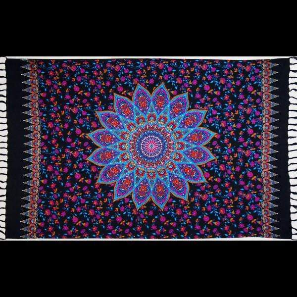 Star Mandala Sarong-Sarongs-Peaceful People