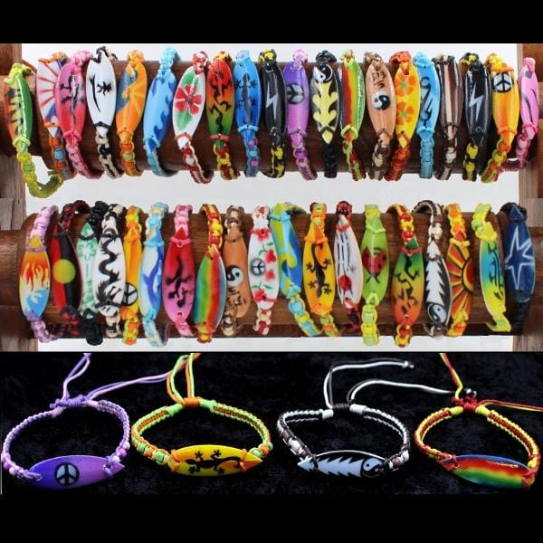 50 Surf Bracelets ($0.75 each)-Bracelets & Jewelry-Peaceful People