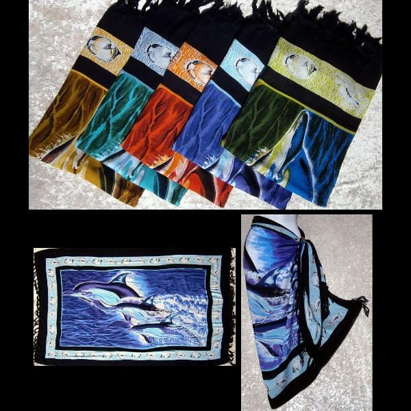 Dolphin Sarongs-Sarongs-Peaceful People