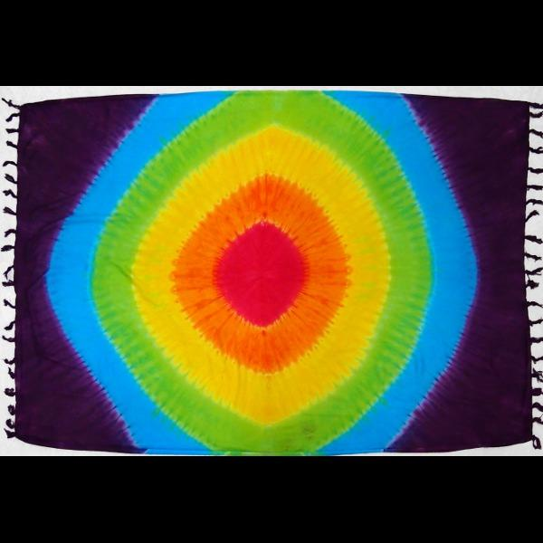 Mixed Tie-Dye Sarongs-Sarongs-Peaceful People