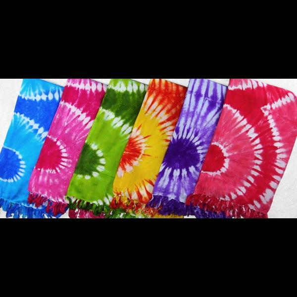 Tie-Dye Rings Sarongs-Sarongs-Peaceful People