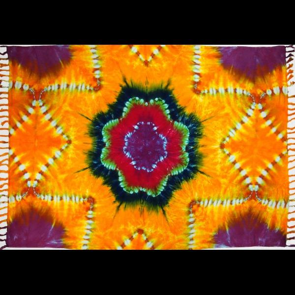 Star Tie-Dye Sarongs-Sarongs-Peaceful People