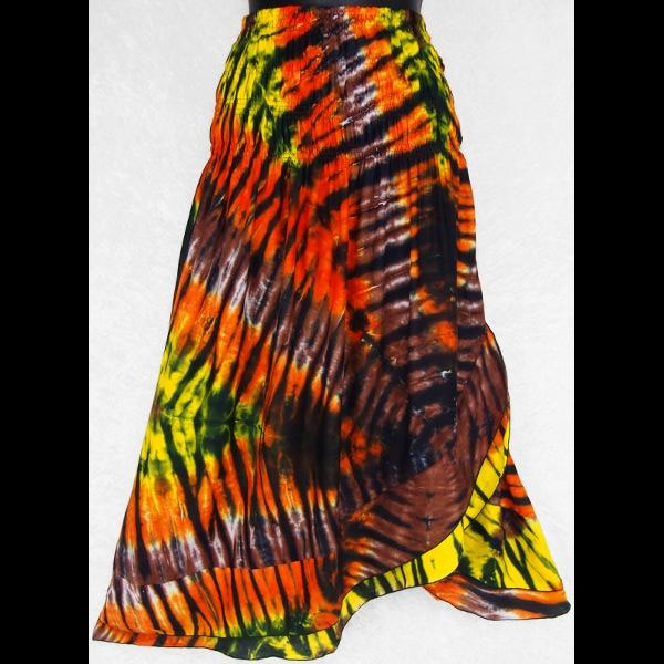 Karma Tie-Dye Convertible Dress/Skirt-Dresses-Peaceful People