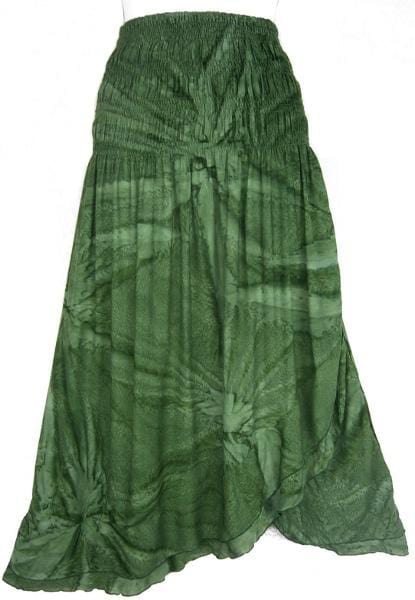 Fizzy Tie-Dye Convertible Dress/Skirt-Dresses-Peaceful People