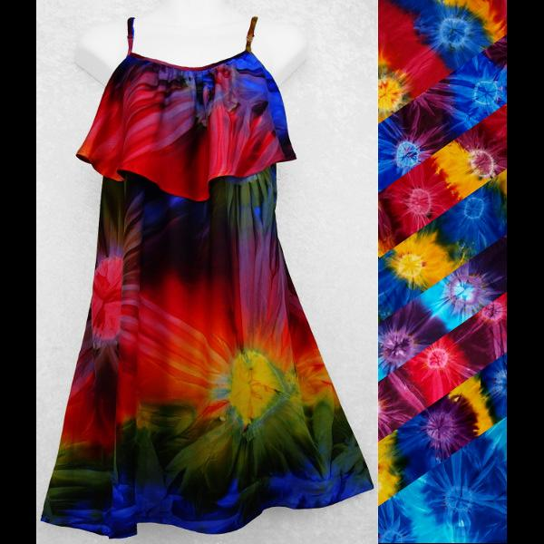 Tie-Dye Moon Dress-Dresses-Peaceful People