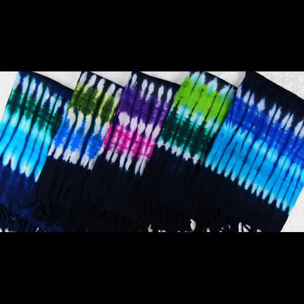 Far Out Tie-Dye Sarongs-Sarongs-Peaceful People