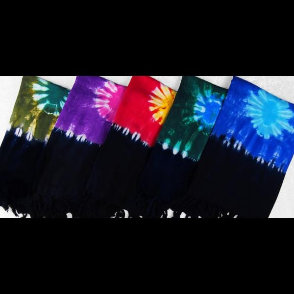 Tie-Dye Suns Sarongs-Sarongs-Peaceful People