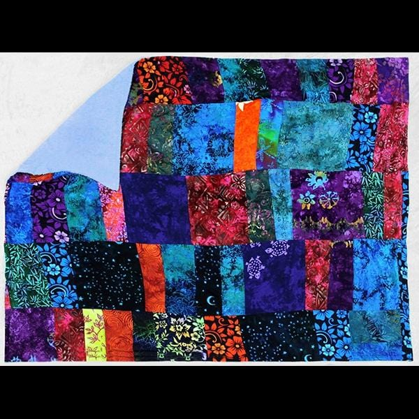 Big Patchwork Quilted Towel-Sarongs-Peaceful People