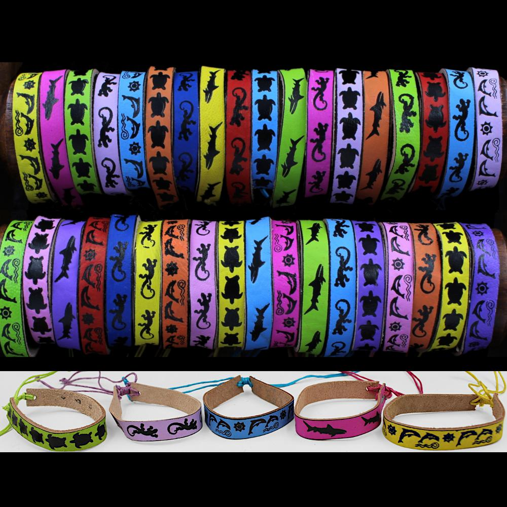 50 Tropical Animal Bracelets ($0.42 each)-Bracelets & Jewelry-Peaceful People