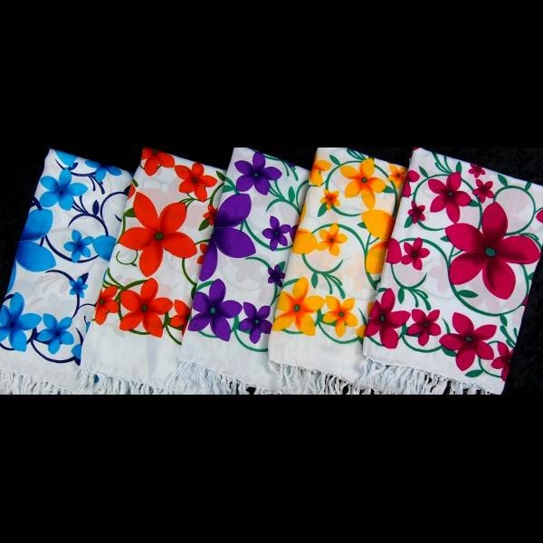 Flower Vine Sarongs-Sarongs-Peaceful People