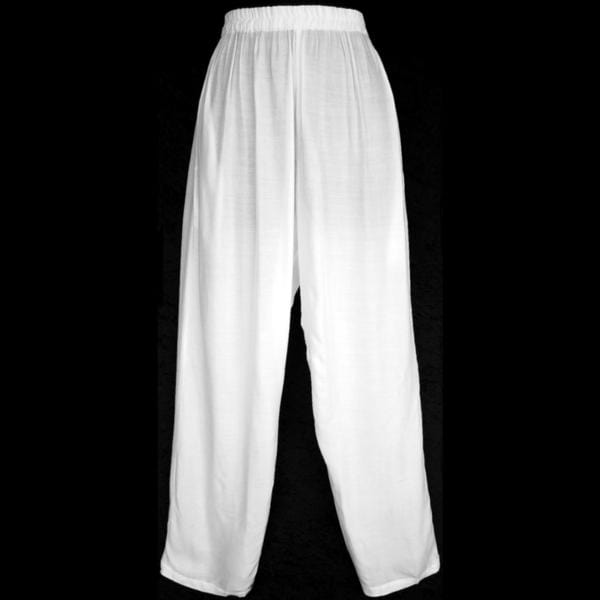 White Sarong Pants-Pants-Peaceful People