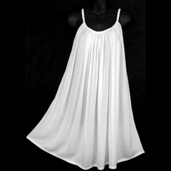 White Parachute Dress-Dresses-Peaceful People