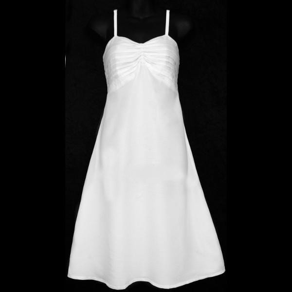 Maya's Premium White Dress-Dresses-Peaceful People