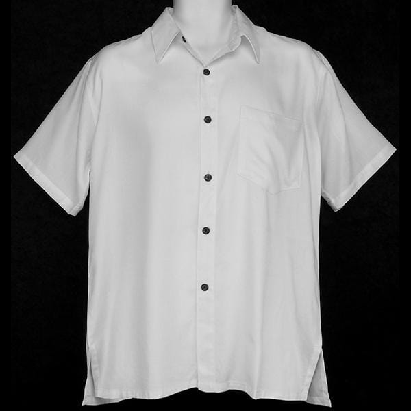 Premium White Collar Shirt-Tops-Peaceful People