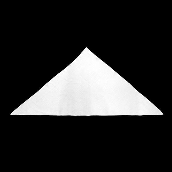 Premium White Triangle 22 inch Tapestry-Tie-Dye Blanks/White Clothing-Peaceful People