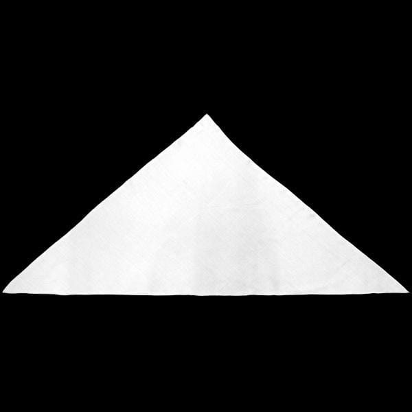 Premium White Triangle 44 inch Tapestry-Tie-Dye Blanks/White Clothing-Peaceful People