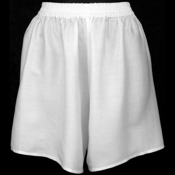 Premium White Women's Boxers-Pants-Peaceful People