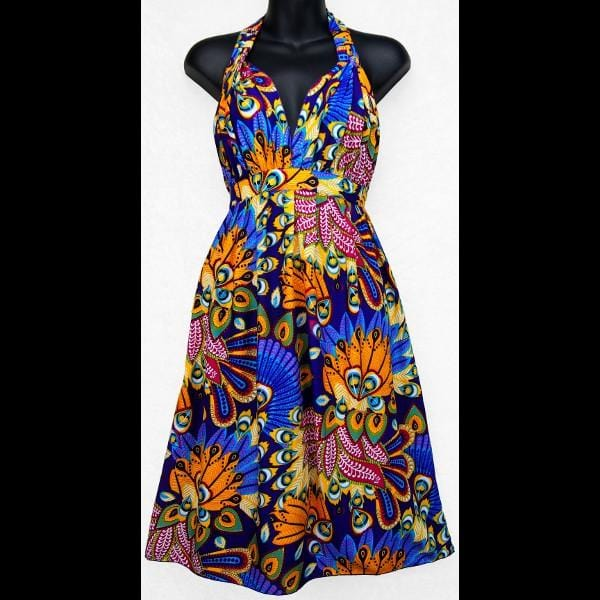 Chromatic Rayon Dress-Dresses-Peaceful People