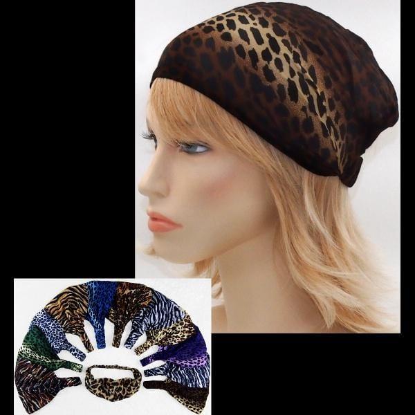 12 Wildlife Elastic Bandana-Headbands ($1.60 each)-Bags & Accessories-Peaceful People