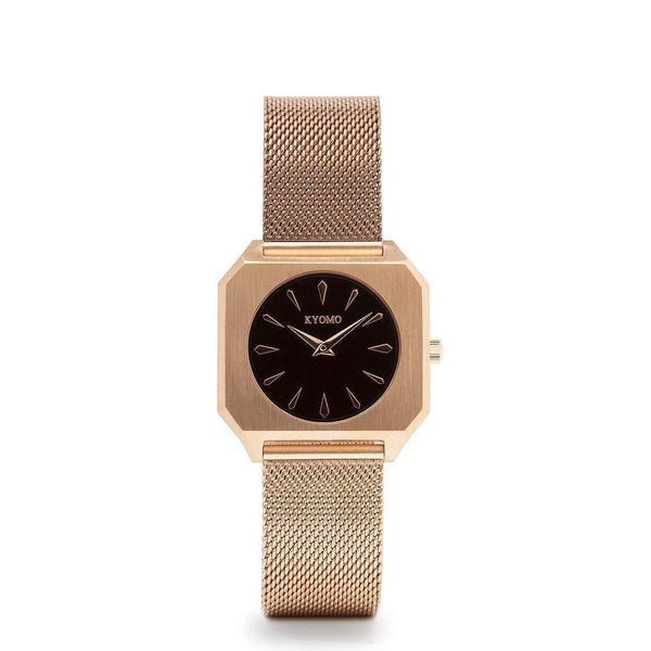 Watch 1C - Black/Gold with Mesh