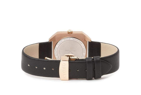 Watch 1L - Gold/Black with Leather