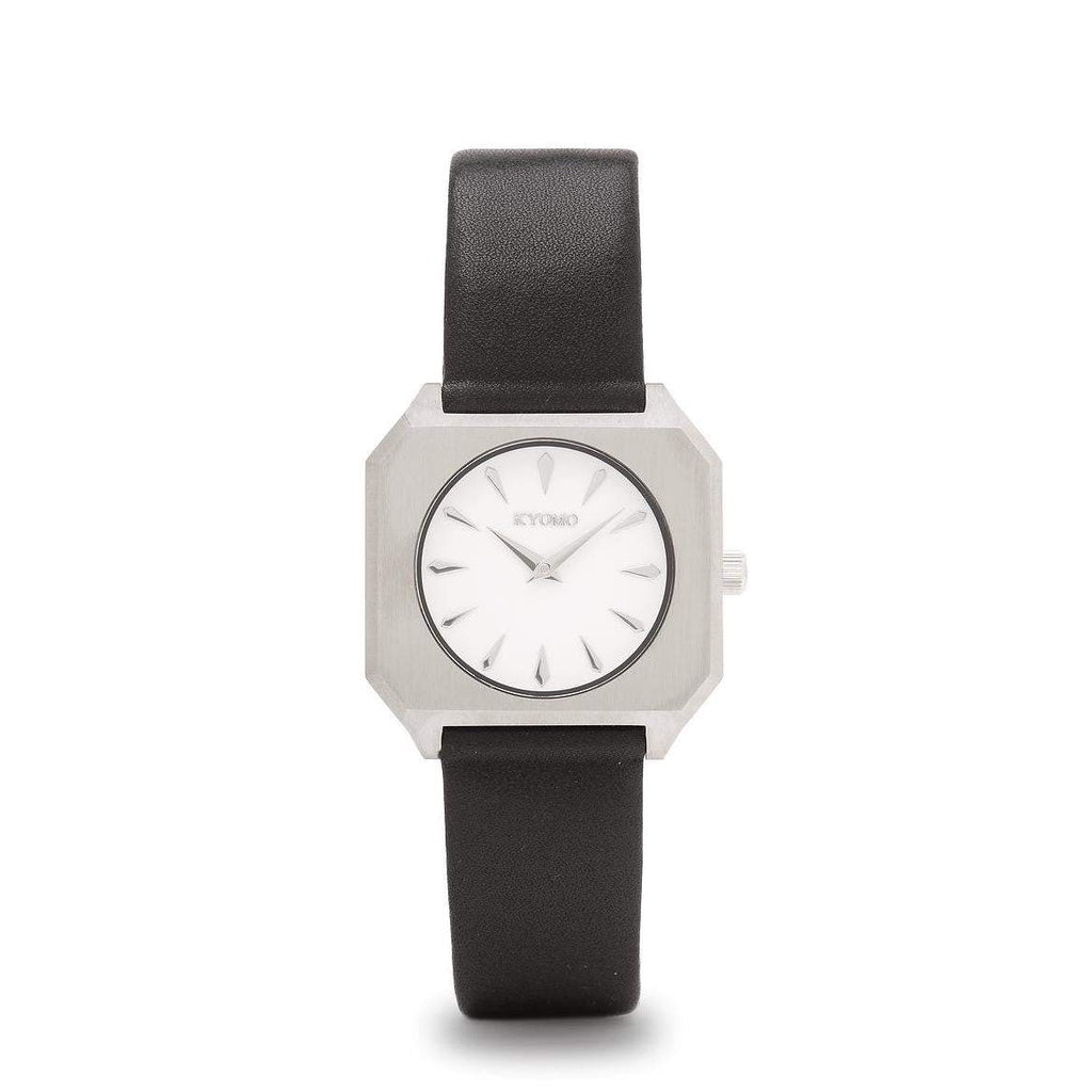 1M - White/Silver with Leather