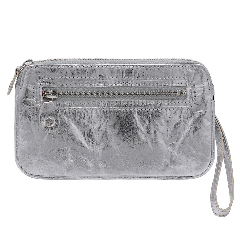 Urban Active, Convertible belt bag, Vegan, Silver