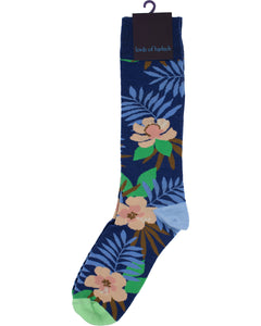 Donald Farm Floral Navy