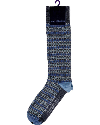 Donald Fairisle Charcoal - Lords Of Harlech
