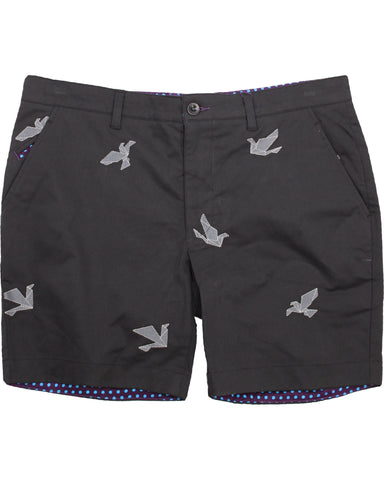 Edward Origami Birds Black