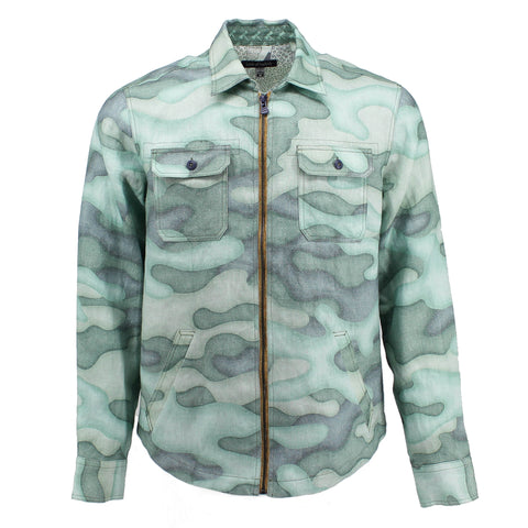 SHACKET Faded Camo Pistachio