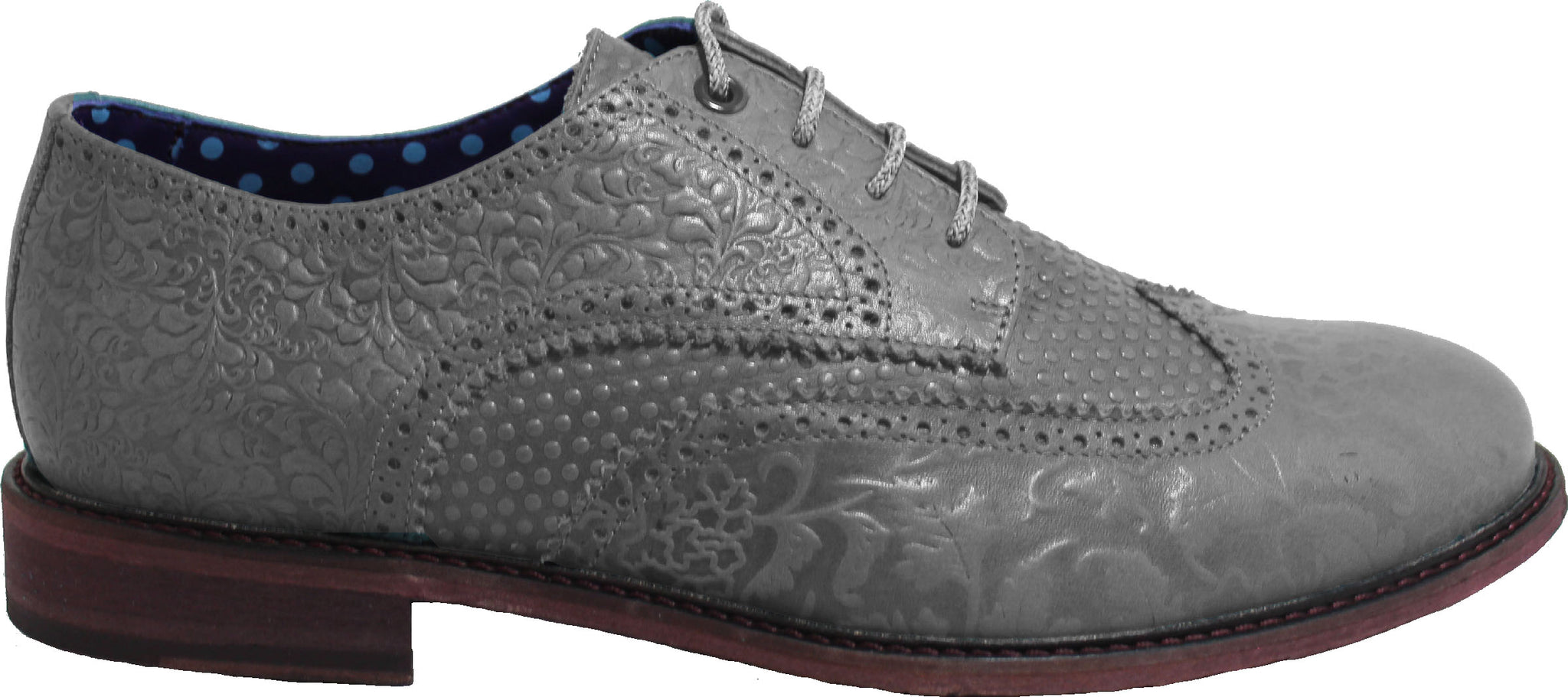 FOLLIE Brogue in Flannel - Lords Of Harlech