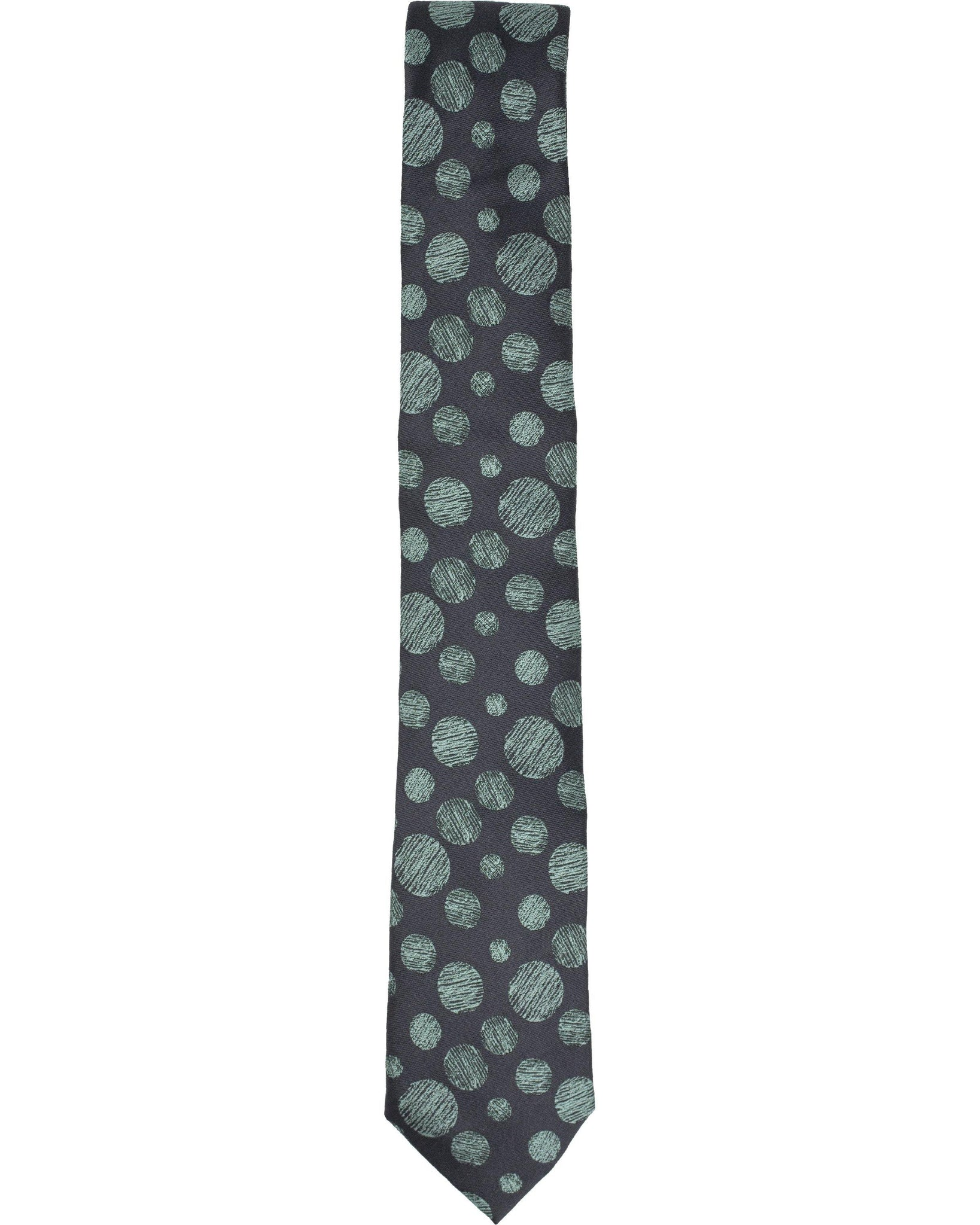 Horace Graphite Tie - Lords Of Harlech