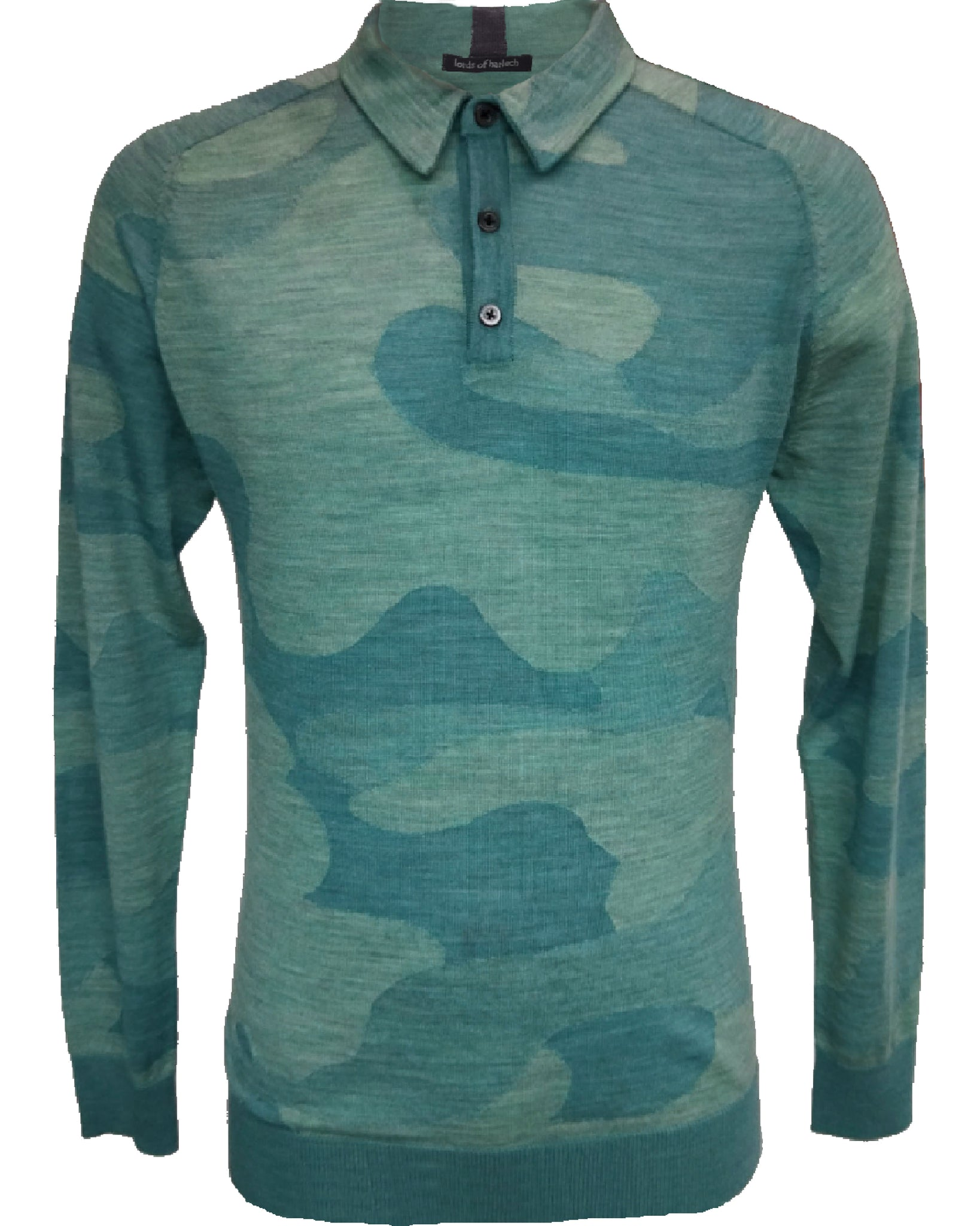 Peter Polo Woolcamo Teal