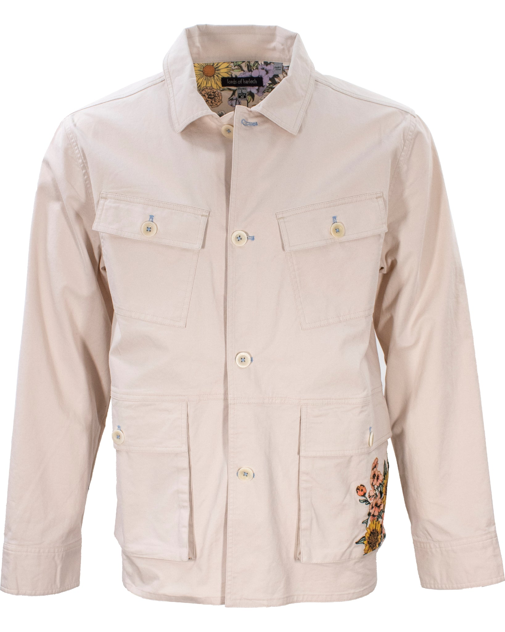 Joe Military Jacket Pumice