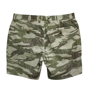 JOHN short in Scribble Camo Olive