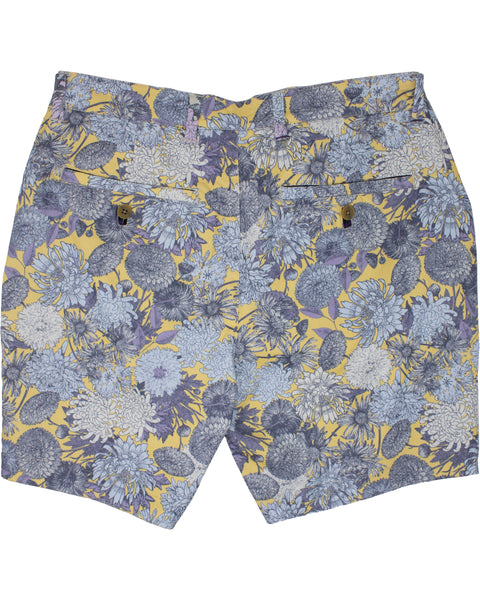John Lux Mums Floral Yellow