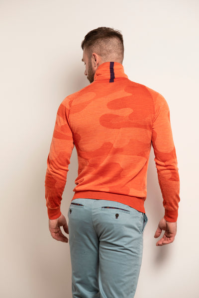 Todd Turtleneck in Woolcamo Lava