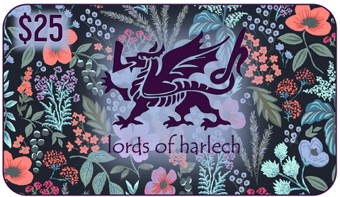 $25 Lords of Harlech Gift Card - Lords Of Harlech