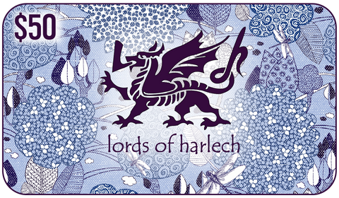 $50 Lords of Harlech Gift Card - Lords Of Harlech