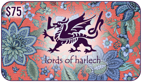 $75 Lords of Harlech Gift Card - Lords Of Harlech
