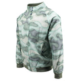 LARRY Linen Jacket Faded Camo Pistachio