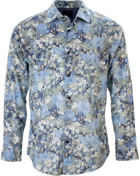 Norman Painters Floral Blue