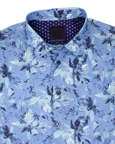 Norman Watercolor Floral Blue
