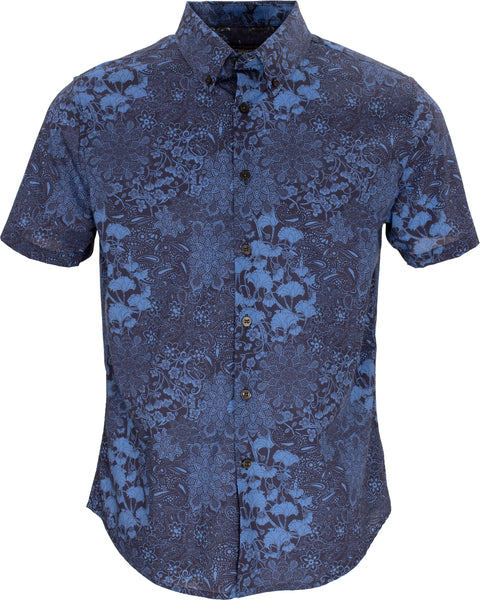Tim Paisley Floral Navy